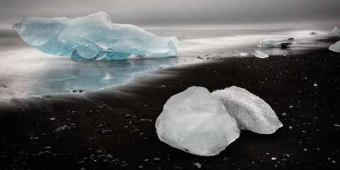 Beached Ice